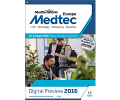 RESINEX will be at MEDTEC Europe, 12-14 April 2016, Stuttgart